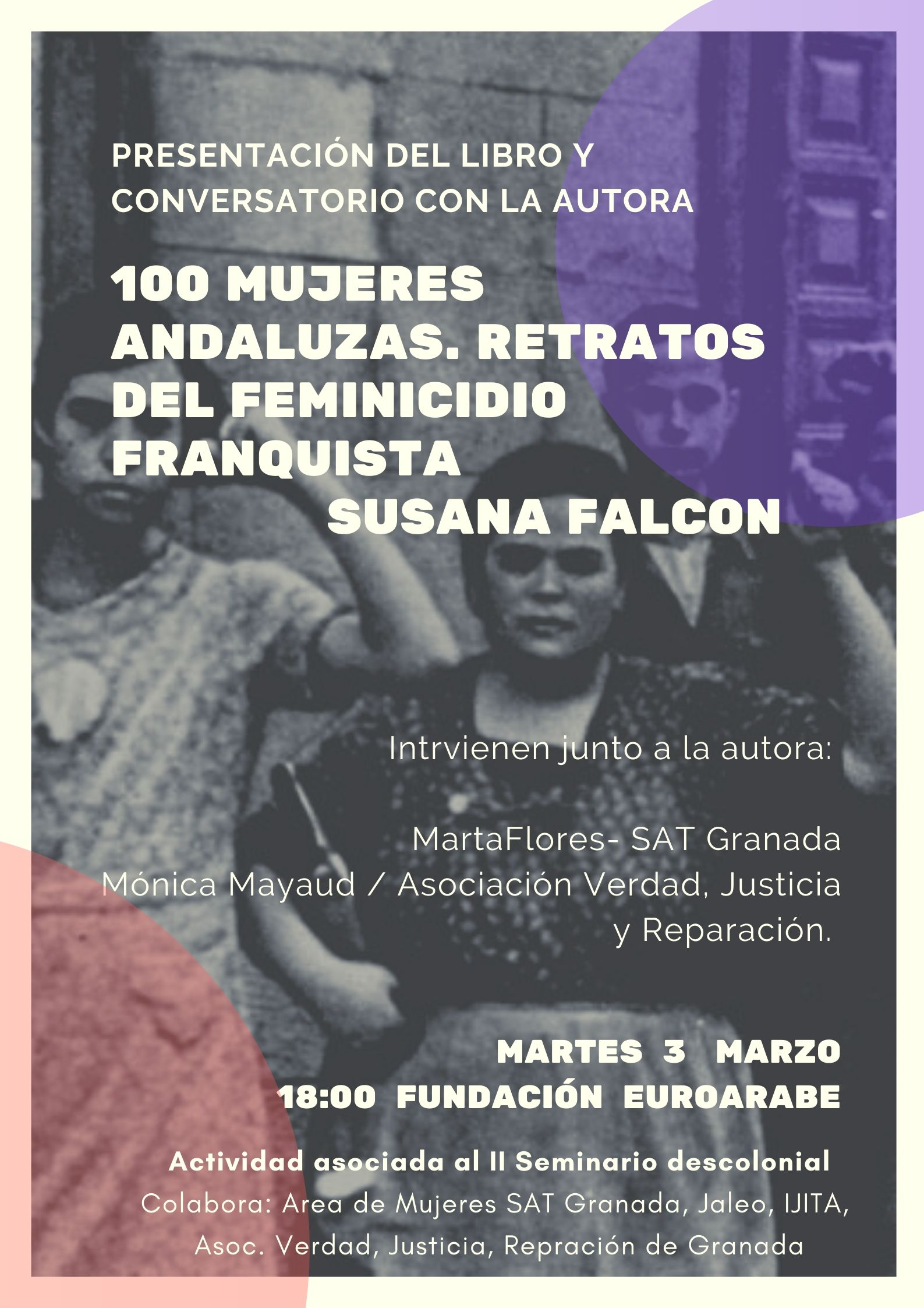 100 Mujeres Andaluzas. Retratos del feminicidio franquista-2